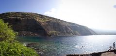 Kealakekua Bay, Big Island, Hawai'i (panorama)