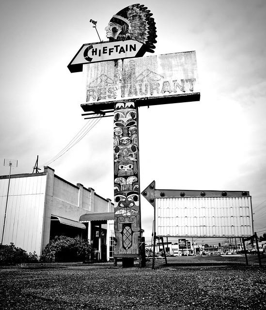 Empty Tacoma restaurant