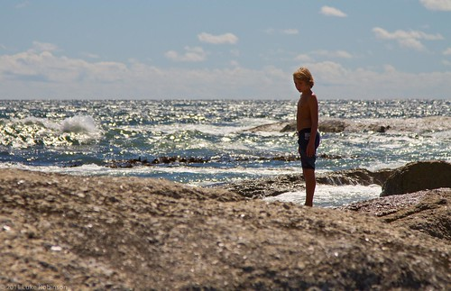 Boy on the Rocks, Camps Bay