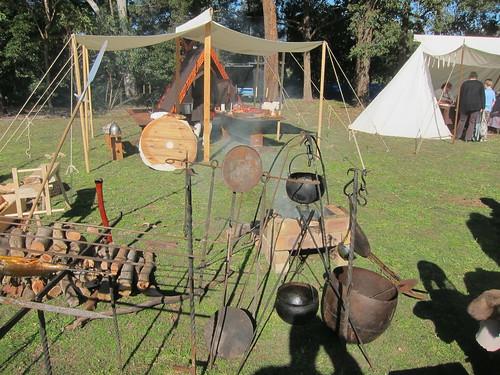 Huscarls' encampment