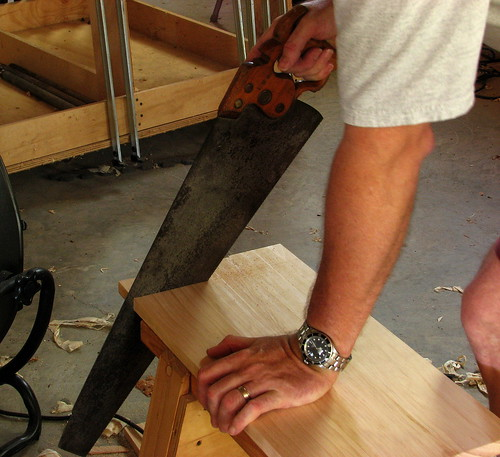 Sawbench Crosscutting