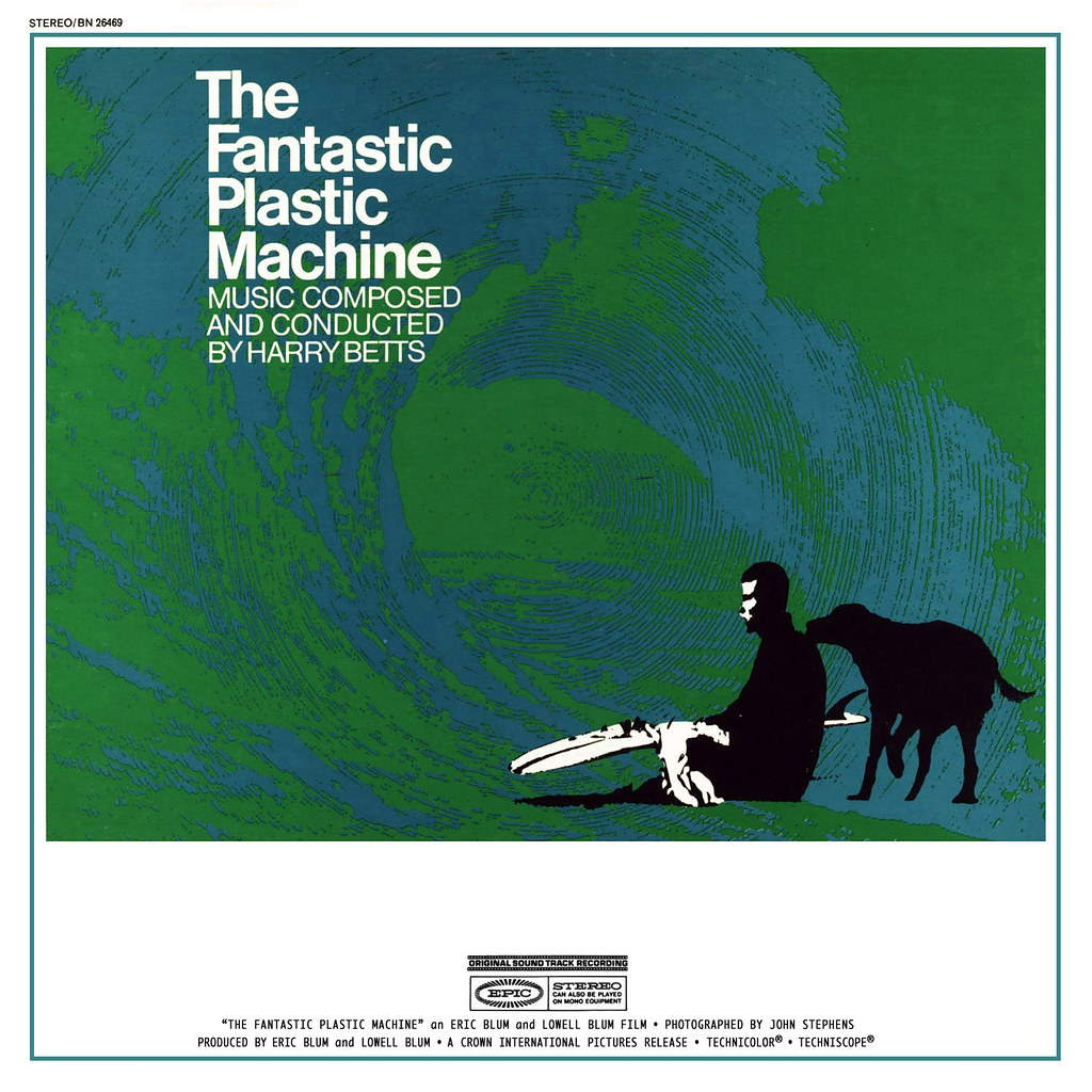 Harry Betts - The Fantastic Plastic Machine