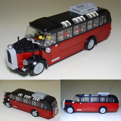 Mercedes-Benz O3250 Bus 1950 by Henrik Hoexbroe
