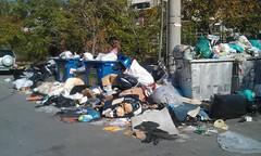 Βουνό τα σκουπίδια στην Αθήνα