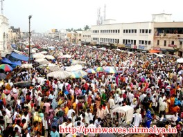 Dipabali Crowd at Puri