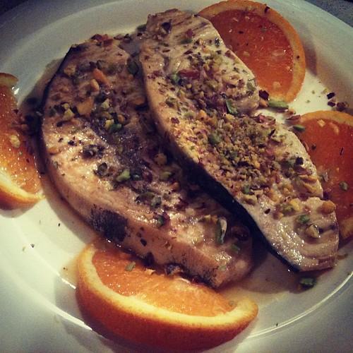 Spada con arancia e pistacchi di Bronte by PaRik