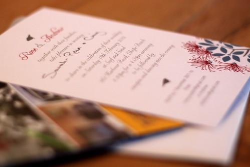 Wednesday: wedding invitation!!