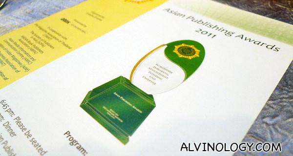 Asian Publishing Awards 2011