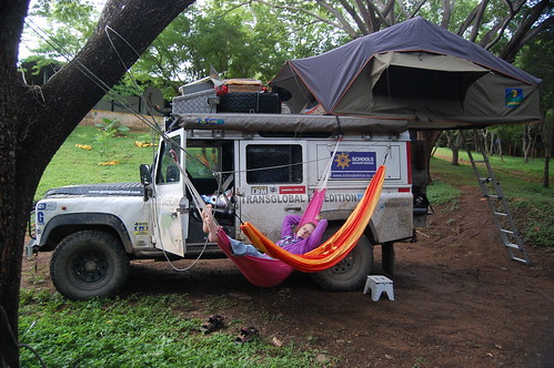 The vehicle of the couple. Picture from their web page. Learn more about their travel on goingoverland.com