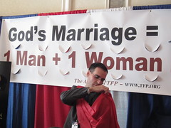 Anti-Gay Marriage Sign at Values Voter Summit
