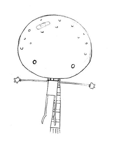 Último esboço do Menino Lua