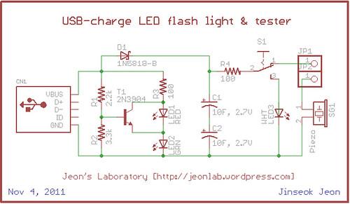 USB light n tester