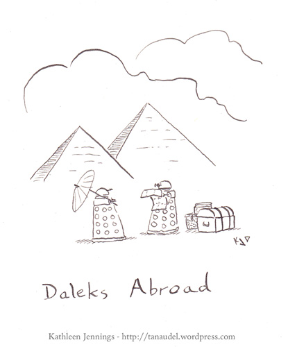 Daleks Abroad