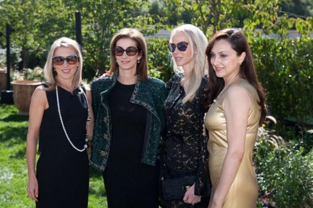 Juliet de Baubigny, Erica Kasel, Vanessa Getty, Bita Daryabari