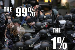 The 99 vs. the 1 %