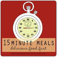 15 minute meals logo