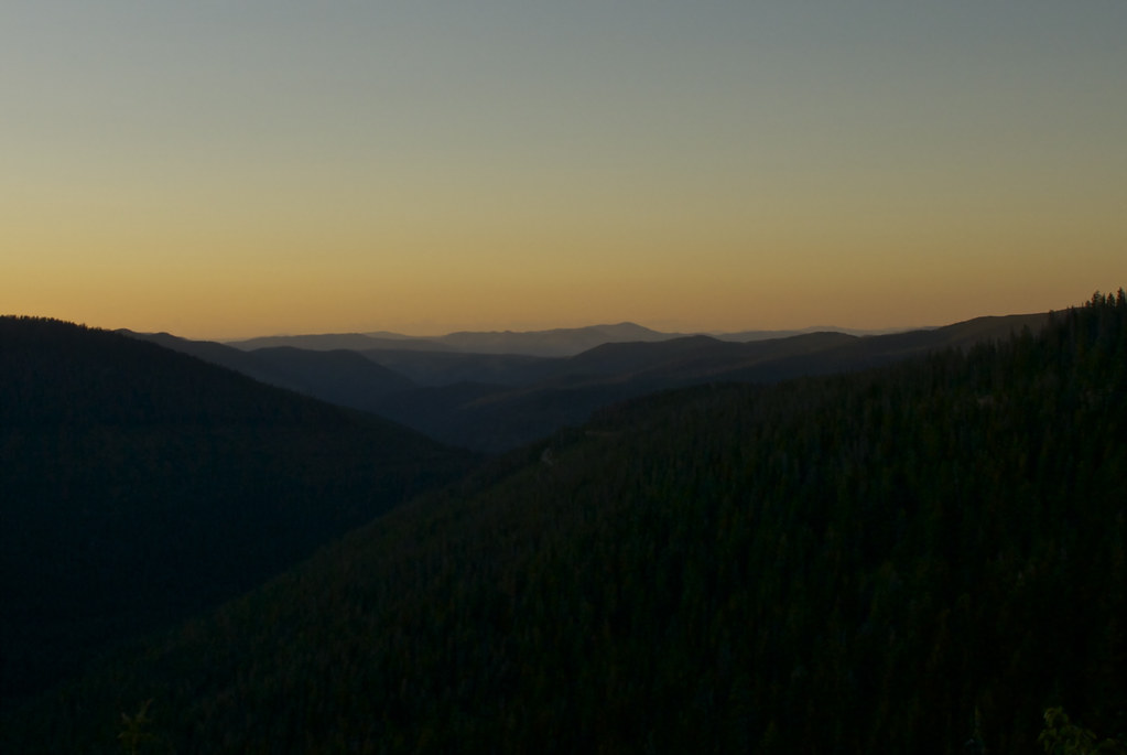 Dusk at Vermilion Pass