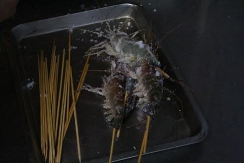 [台湾2.5] エビにコロモをつけて