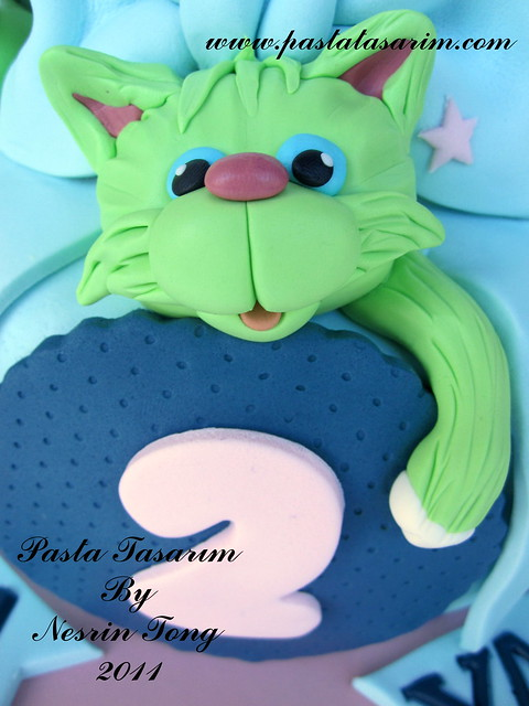 LITTLE CATS CAKE - TWINS DAMLA & YAGMUR 2ND BIRTHDAY