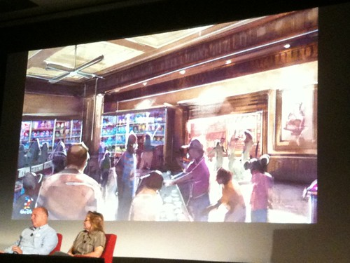 Interior of new Buena Vista St shop #D23Expo #fb