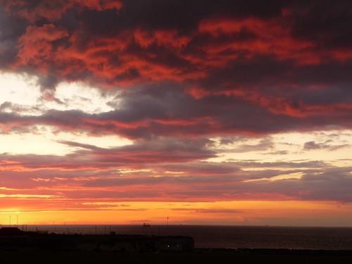 Sunset off Palm Bay Margate by Samantha Halliwell