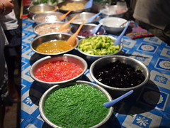 Vientiane Night Food Stalls