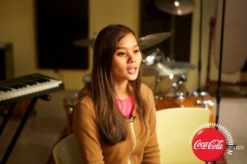 Champ and Kitchie at Coke Music Studio - 1