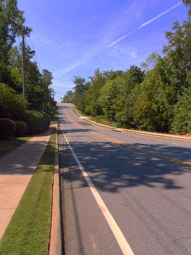 Road near home