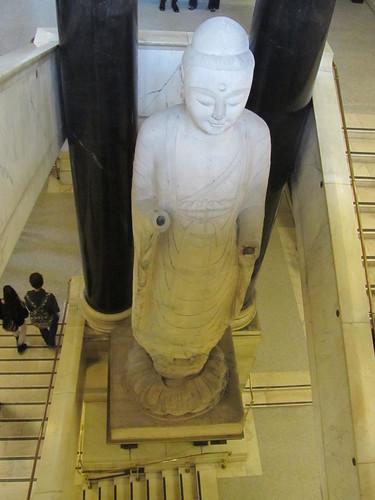 Marble figure of Amitabha Buddha, China
