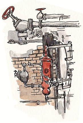 hovden cannery pipes