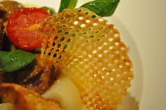 Mains detail: Rognon de veau à la moutarde