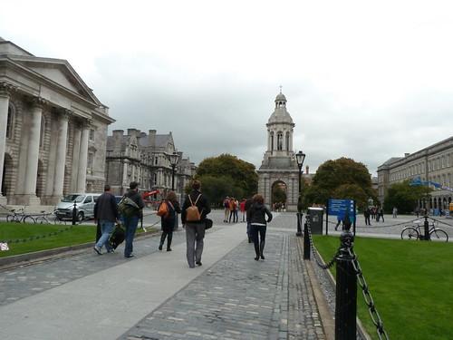 Flickr Dublin photowalk in Trinity College