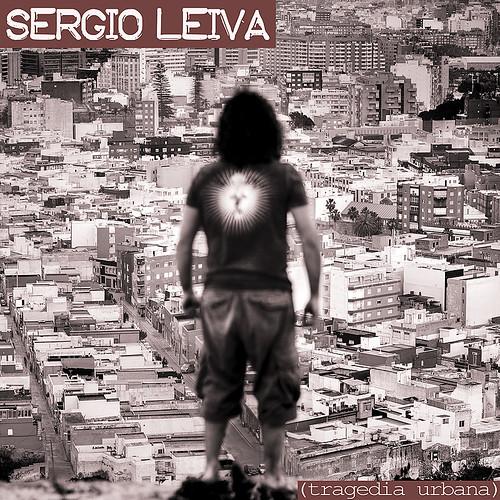 "Cubierta del Disco ""tragedia Urbana"" de Sergio Leiva"
