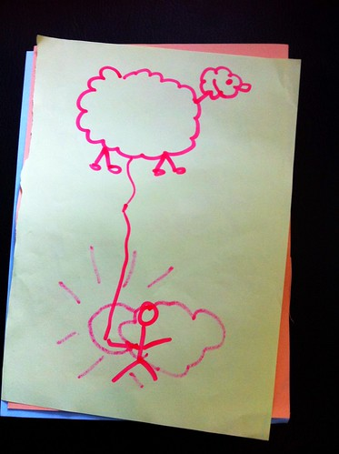 Ett flygande får från min session på <a rel=
