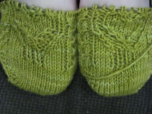 sweetheart socks progress