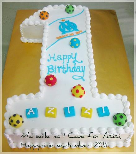 marseille NO 1 cake
