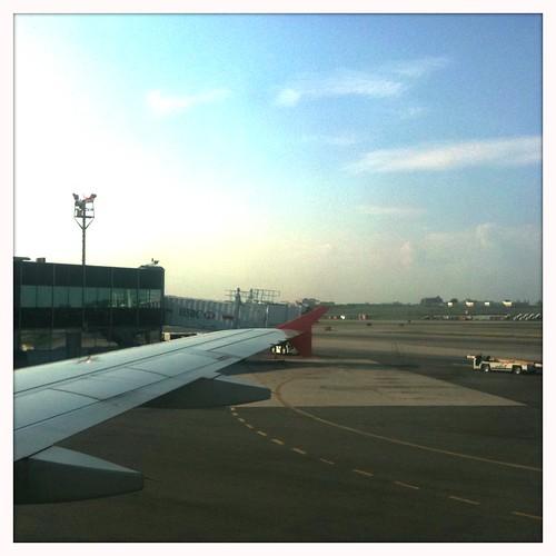 We've landed!