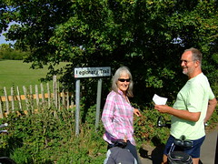 Sue and Terry on the Legionary Trail.