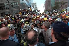 911: President George W. Bush Visits New York, 09/14/2001.