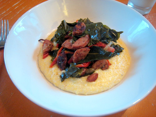 sausage and grits!