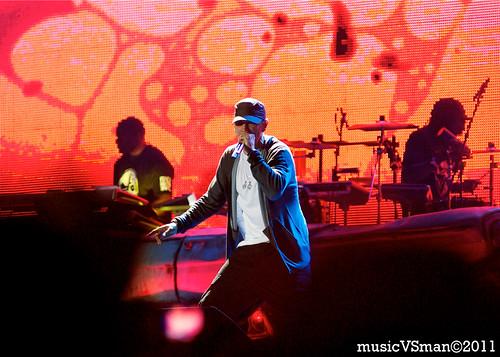 Eminem @ Kanrocksas 2011