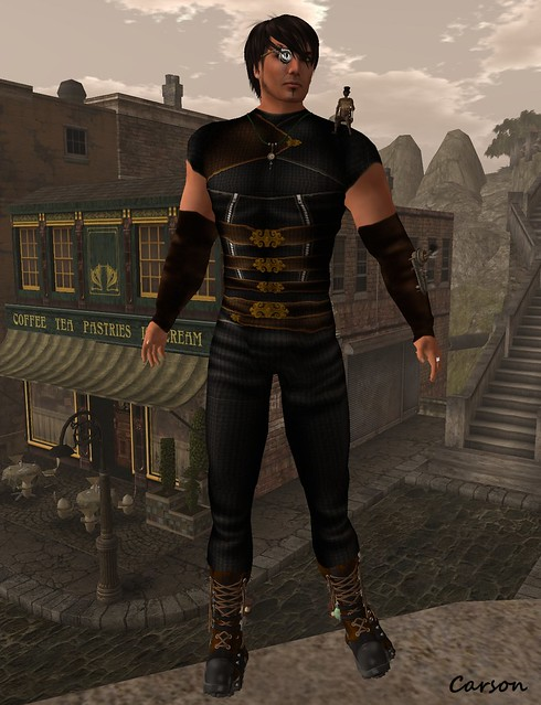 Aftershok - Steam Pants, Shirt, Boots and Gloves