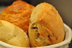 Bread detail: olive