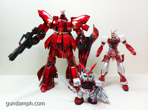 MG Sazabi Metallic Coating (Titanium-Like Finish) (66)