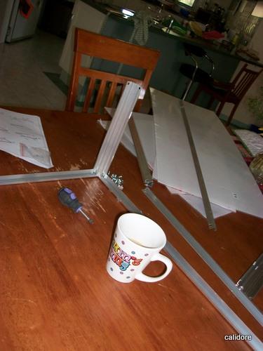 Purple Screwdrivers help heaps as do cups of tea