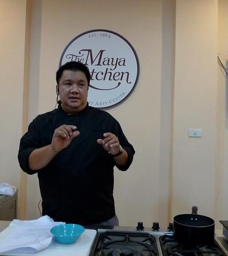 Chef Robby Goco