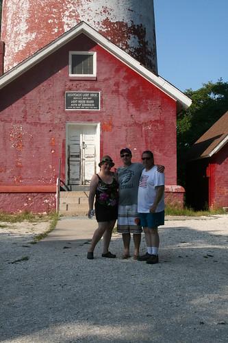 Us at the Assateague Lighthouse
