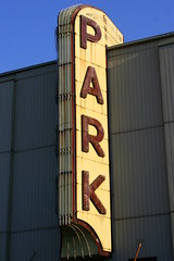 Park Theatre Neon Sign - McMinnville, TN