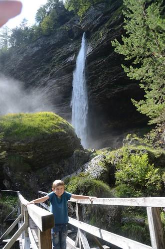 Slowenien: Pericnik-Wasserfall