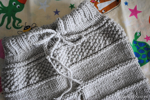 Hand Knit Baby Pants from the Kanoko Pattern (1/3)